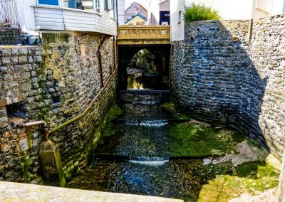 Lyme Regis Stream Bridge